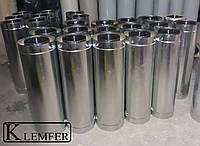 Труба нержавеющая 1.0мм AISI430 в кожухе из оцинкованной стали Ф180\Ф250