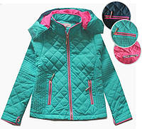 Стеганая куртка для девочки на осень