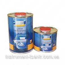 Лак автомобильный BLUE-CAR VHS 2+1 0,5 л +отвердитель 025 л