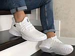 Чоловічі кросівки Adidas (білі) 9018, фото 3