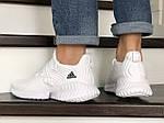 Чоловічі кросівки Adidas (білі) 9018, фото 4