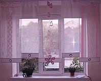Японские панельки Веточка розовая, фото 1