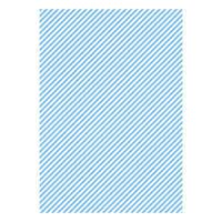 Бумага дизайнерская А4 (200 гр/м) Полоска голубая косая