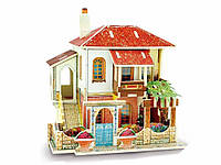 Кукольный домик 3D пазл Diy деревянный Вилла, фото 1