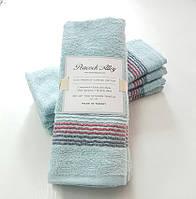 Набор полотенец 35*55 (4шт) Голубой