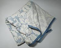 Полотенце жаккард Nanette голубое
