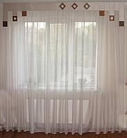 Жесткий ламбрекен Хай-тек беж  2,5м, фото 1