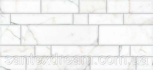 Плитка Интеркерама Плаза 23x50 светло-серый (071)