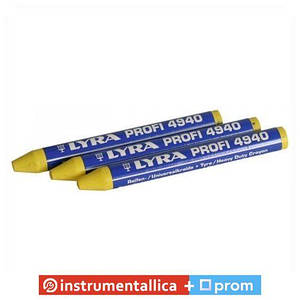 Крейда жовтий 10 мм 5958432 Tip top Німеччина