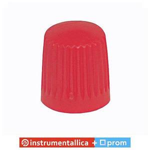Колпачок пластиковый для вентилей красный