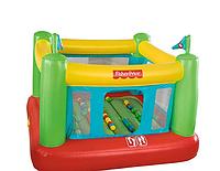 Надувной игровой центр-батут Fisher Price  93533 (1.75 x 1.73 x 1.35 см) + шарики 50 штук