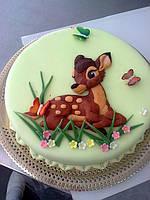 """Заказать торт """"Бемби"""" (bembi) (барельеф)"""