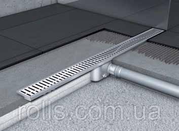 Канал душевой без фланца 1085мм ACO Shower Drain C-line
