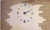 """Часы настенные 3D """"DIY"""" от 60 до 120 см цвет серебро (8516-022 209S), фото 2"""