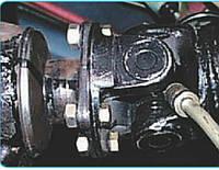 Проверка технического состояния и смазка карданной передачи