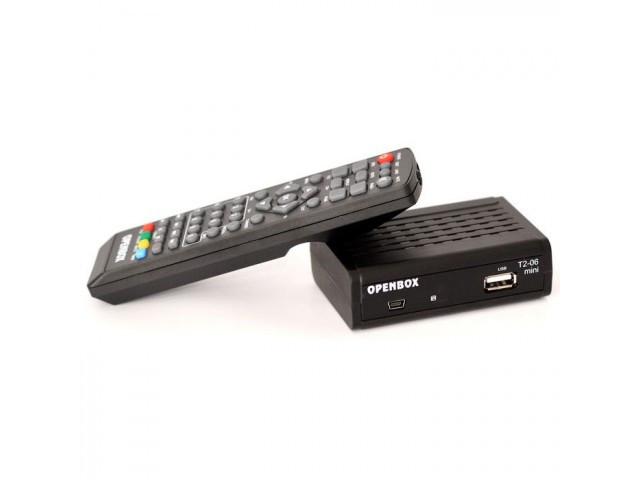 Цифровой приемник T 2  OPENBOX  T2-06 HD mini DVB-T2 *49975
