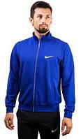 Олимпийка кофта мужская на замке синяя/серая/бордовая Nike Найк