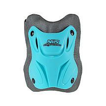 Комплект захисний Nils Extreme H407 Size S Blue/Grey, фото 2