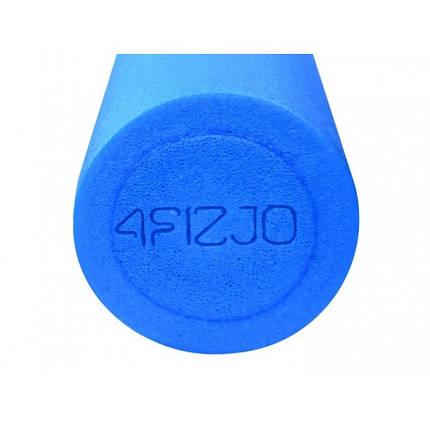 Масажний ролик (валик, роллер) гладкий 4FIZJO 45 x 15 см 4FJ1134 Blue, фото 2