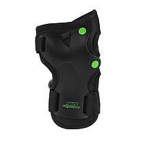 Комплект захисний Nils Extreme H407 Size M Black/Green, фото 2