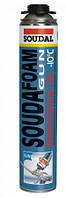 Soudafoam Professional 60\ 750млл Зимняя монтажная герметизирующая пистолетная пена  с выходом до 60 л