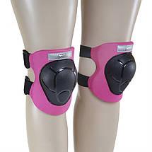 Комплект захисний Nils Extreme H210 Size M Black/Pink, фото 3