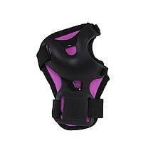 Комплект захисний Nils Extreme H210 Size M Black/Pink, фото 2