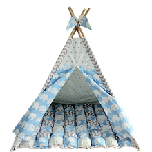 Вигвам Хатка комплект Арктика с ковриком Бонбон