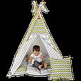 Вигвам Хатка комплект Египет с мягким ковриком, фото 2