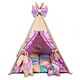 Вигвам Хатка комплект Куклы Лол - Lol с подушками, фото 2