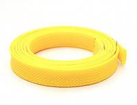 Оплетка Kaya для силиконовых шлангов, желтая