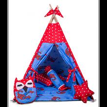 Вигвам Хатка комплект Сайдермен - Spider-Man с подушкой