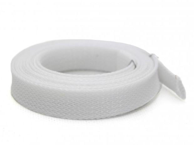 Оплетка Kaya для силиконовых шлангов, белая