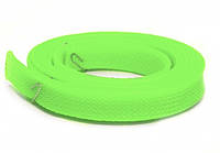 Оплетка Kaya для силиконовых шлангов, зеленая