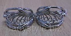 """Ажурні сережки """"Гламур"""" від студії LadyStyle.Biz"""
