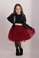 Красная   юбка ту-ту   для девочки Жемчужинки, фото 1