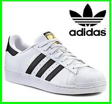 Кроссовки Adidas Superstar Белые Адидас Суперстар (размеры: 41,42,43,45) Видео Обзор