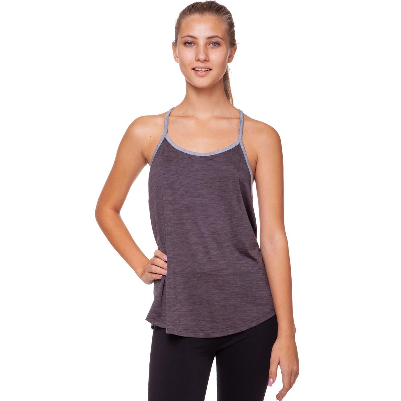 Майка для фитнеса и йоги Domino Sport размер M-42-48 Черный M (42-48) PZ-CO-1802_1