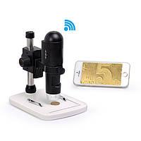 Цифровой микроскоп Sigeta Guru WiFi 10-200x 720P HD for iOS/Android/Windows