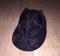 Фетровые шляпы женские. шляпа гламурная (32)