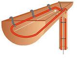 Нагрівальний кабель 11м Fenix для антиобмерзання 11 метрів ринви і водостоку, фото 2