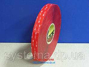 3M™ VHB™ 4905 - Акриловый двухсторонний скотч 3M (клей в ленте) прозрачный, 6,0х0,5 мм, рулон 3 м, PE лайнер, фото 2