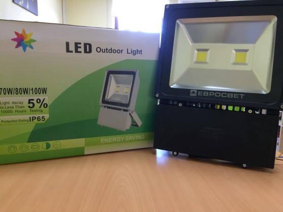 Прожектор светодиодный LED 100 Вт (W), фото 2