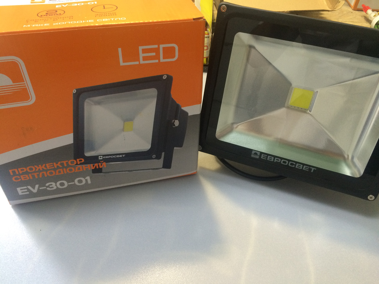 Прожектор светодиодный LED 30 Вт (W)