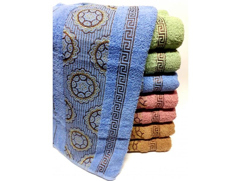 Банные полотенца Версаче-Круги