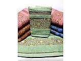 Банные полотенца Версаче-Круги, фото 3