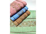 Банные полотенца Версаче-Круги, фото 2