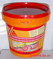 Sika® BetonKontakt - Грунтовка образующая слой повышенного сцепления с отделочными материалами, 15 кг