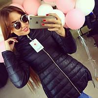 Женская стильная демисезонная куртка с бисером, фото 1
