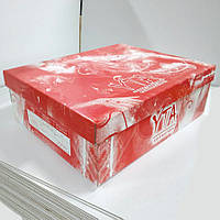 Коробка упаковочная с печатью логотипа 332х245х110 мм
